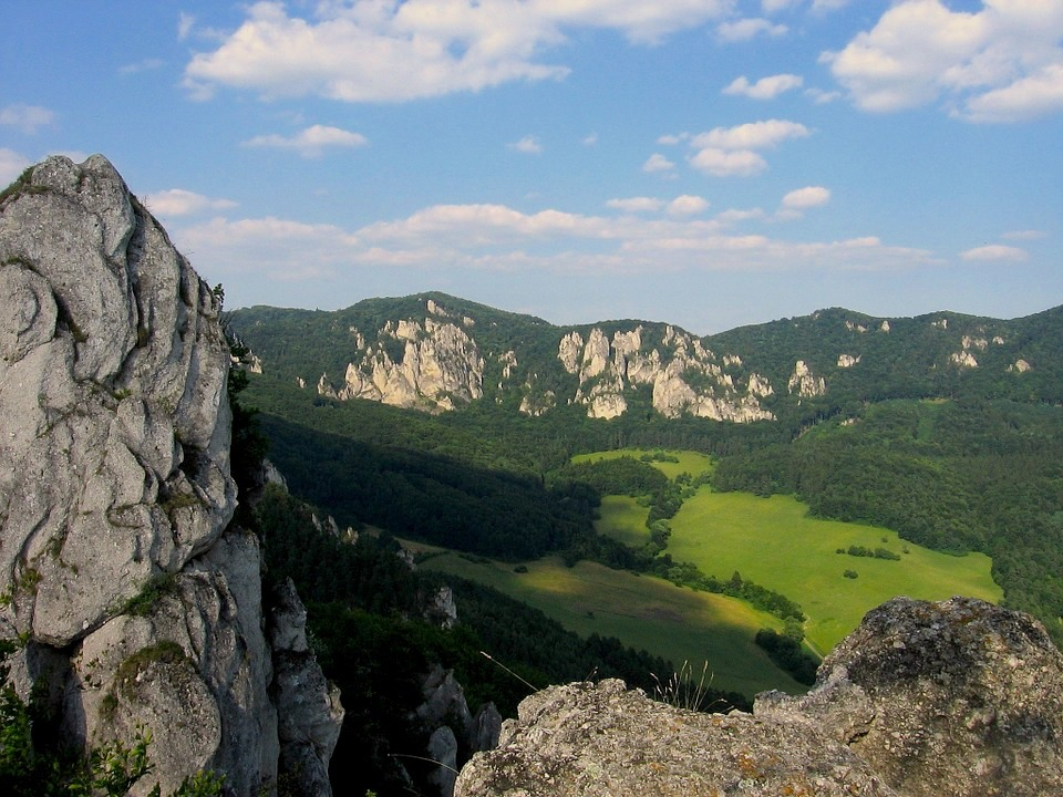 Paysage de Slovaquie