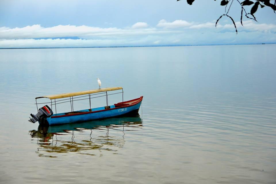Bateau sur le Rio San Juan, Nicaragua