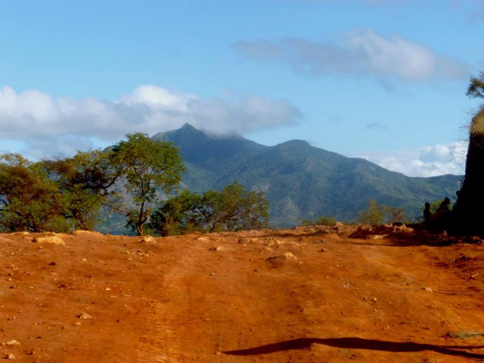 Terre ocre, bleu et verte, Madagascar
