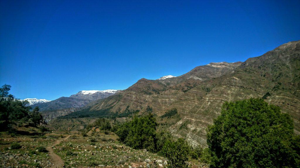 Cajon del Maipo, Chili