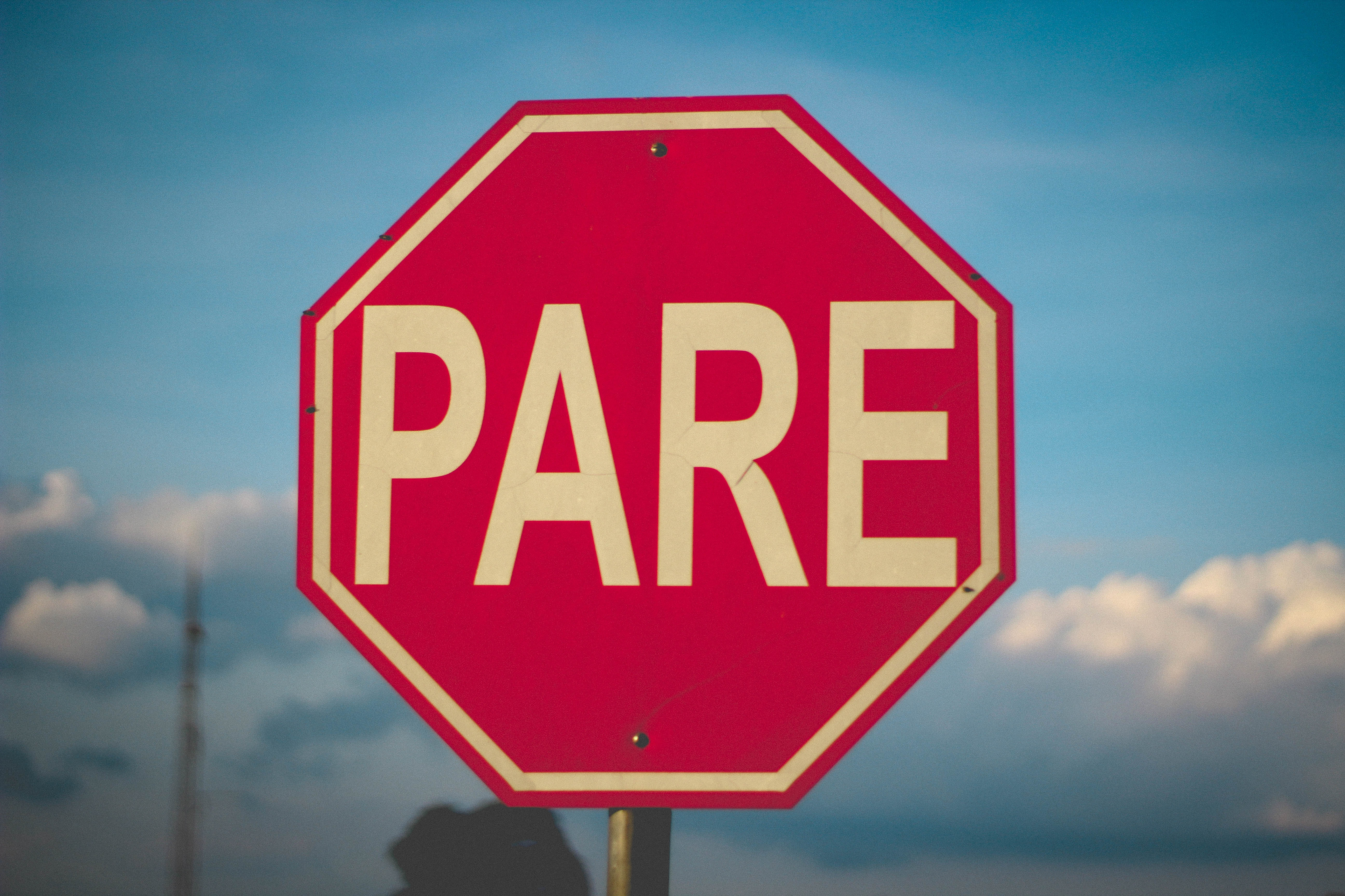 Pare / stop