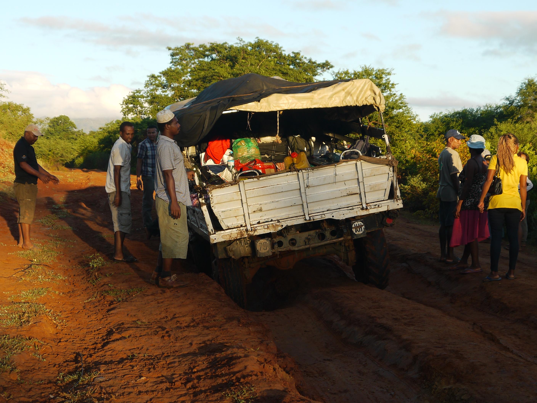 Camion embourbé, Madagascar