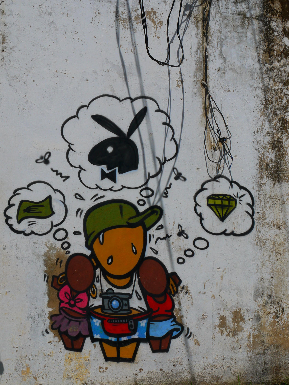 Tourisme sexuel à Madagascar, street art par JACE