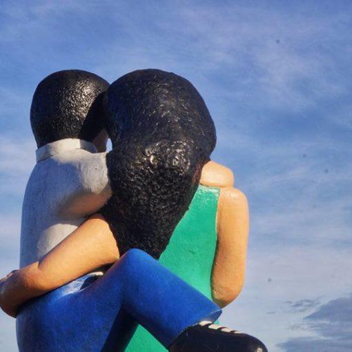 Statue des amoureux, Puerto Montt, Chili