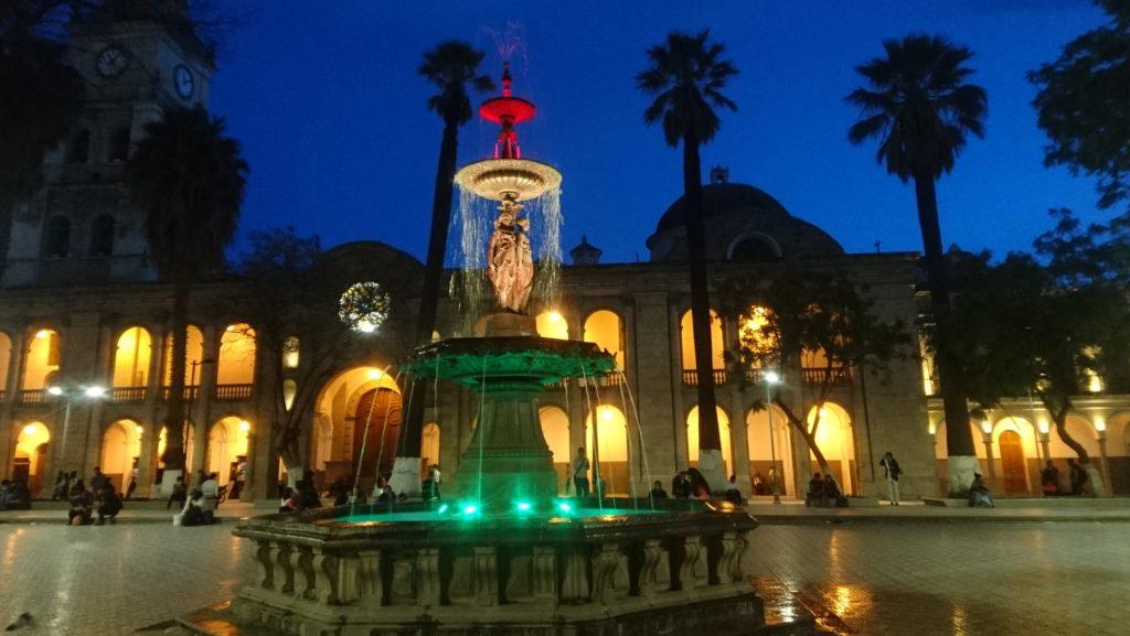 Cochabamba de nuit, Bolivie