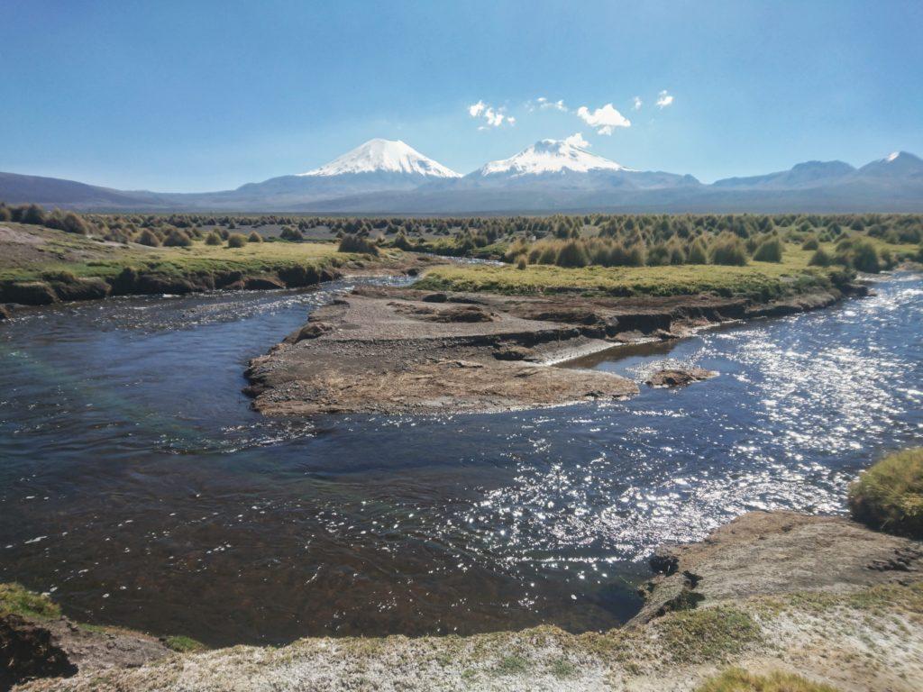 Les volcans du parc Sajama, Bolivie