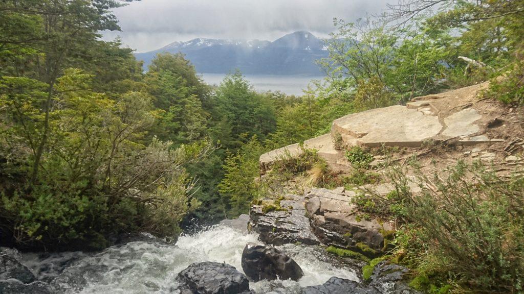 Cascade, Puerto Williams, Ile Navarino, Chili