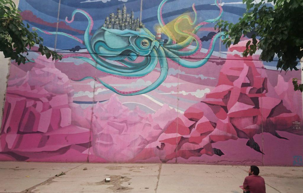 Mural, San Juan Capital, Argentine