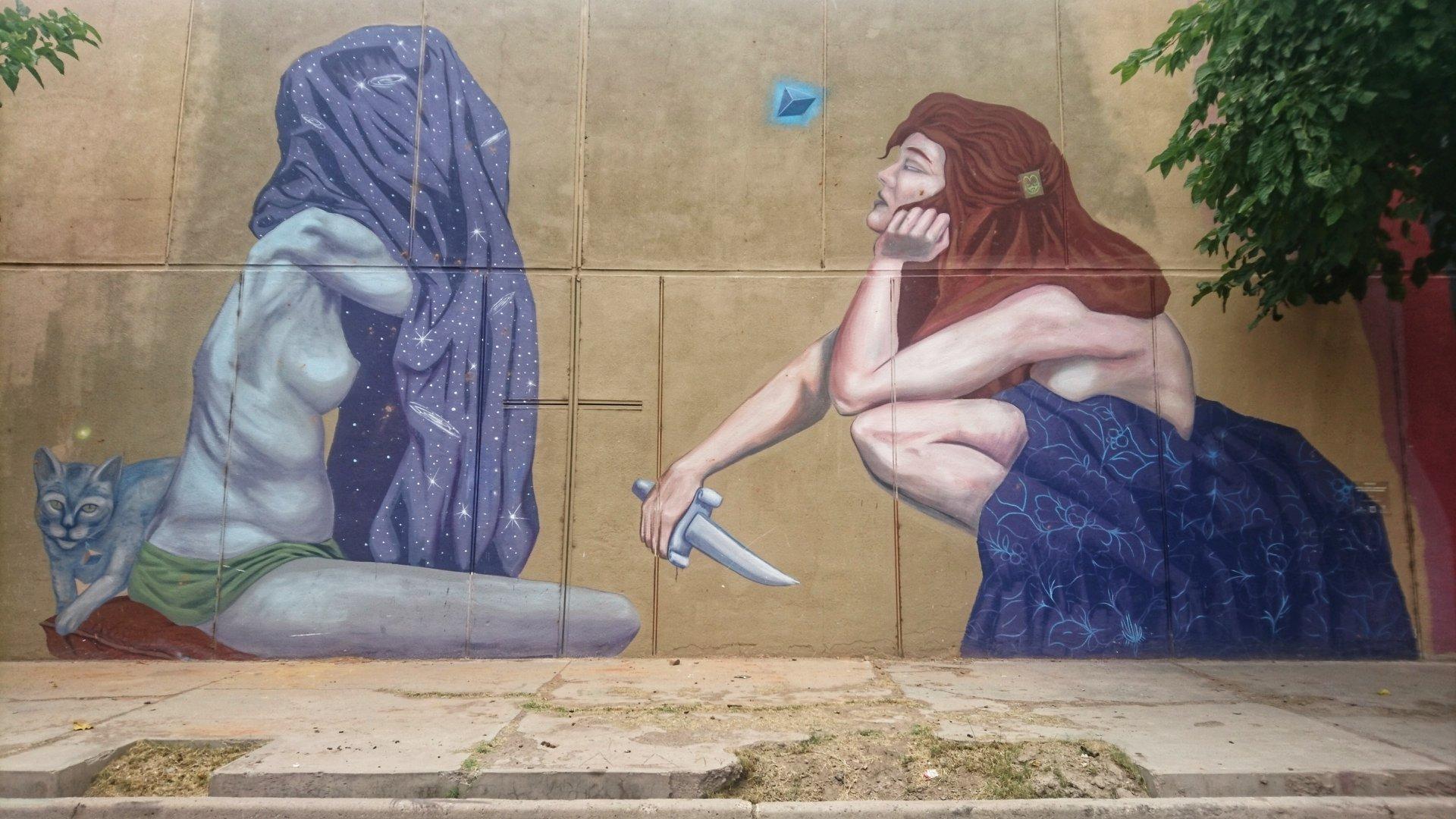 Street art dans les rues de San Juan capitale, Argentine