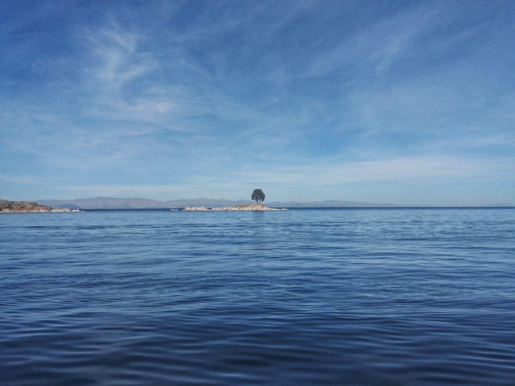 Sur le lac Titicaca, Bolivie